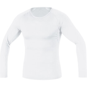 GORE RUNNING WEAR Essential Base Layer Thermo Shirt Long Men white